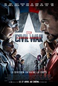 Affiche du film Captain America : Civil War