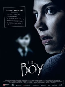 Affiche du film The boy avec Lauren Cohan