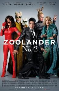 Affiche bis du film Zoolander 2