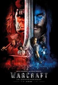 Affiche du film Warcraft le commencement