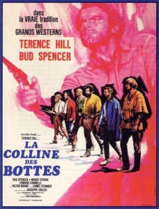 Affiche du film La colline des bottes