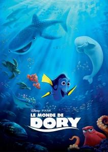 Affiche du film Le monde de Dory