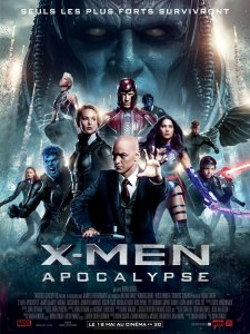 Affiche du film X-Men Apocalypse