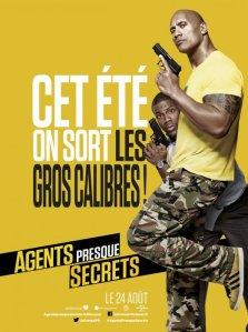 Affiche du film Agents presque secrets