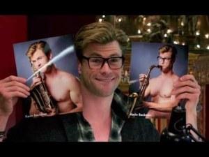 Chris Hemsworth fait son Kevin