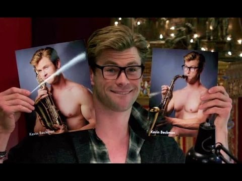 Chris Hemsworth fait son Kevin