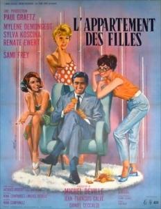 Affiche du film L'appartement des filles