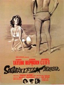 Affiche du film Soudain l'été dernier