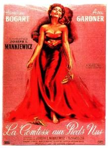 Affiche du film La comtesse aux pieds nus