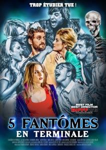 Affiche du film Cinq fantômes en terminale