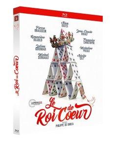 Jaquette Blu-ray du Roi de coeur