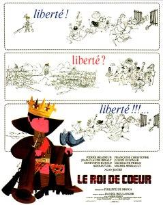 Affiche du film Le roi de coeur