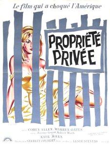 Affiche du film Propriété privée