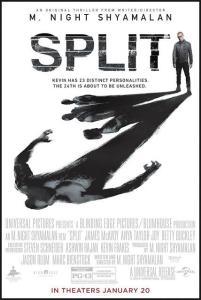 Affiche américaine du film Split