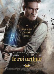 Affiche du film Le roi Arthur la légende d'Excalibur