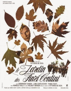 Affiche du film Le jardin des Finzi Contini