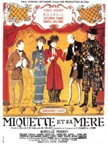 Affiche du film Miquette et sa mère