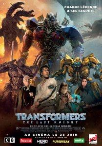 Affiche du film Transformers The Last Kinght