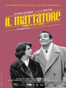 Affiche réédition du film Il Mattatore L'homme aux cent visages