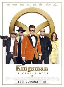 Affiche du film Kingsman Le cercle d'or