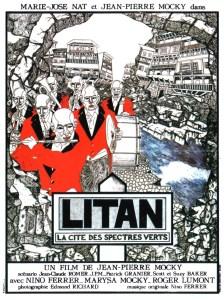 Affiche du film Litan La cité des spectres verts