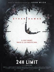 Affiche française du film 24h Limit