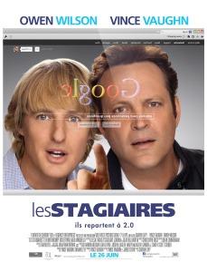 Affiche du film Les stagiaires