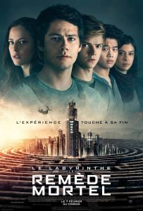 Affiche du film Le Labyrinthe Le remède mortel