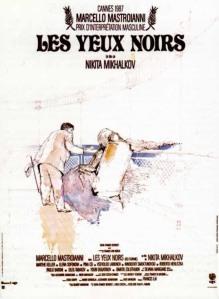 Affiche du film Les yeux noirs