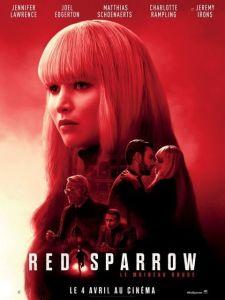 Affiche du film Red Sparrow