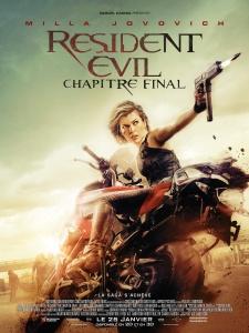 Affiche du film Resident Evil Chapitre final