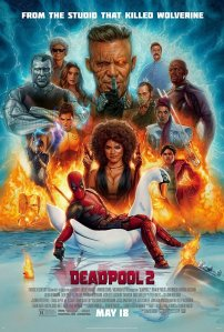 Affiche américaine du film Deadpool 2