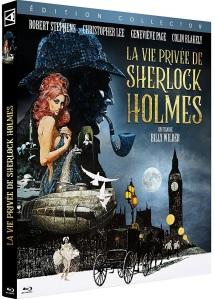Jaquette Blu-ray de La vie privée de Sherlock Holmes