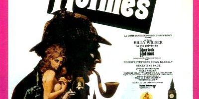 Affiche du film La vie privée de Sherlock Holmes