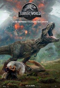 Affiche du film Jurassic World Fallen Kingdom