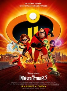 Affiche du fim Les indestructibles 2