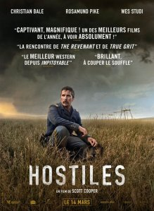 Affiche du film Hostiles