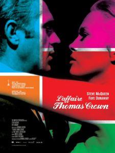 Affiche récente du film L'affaire Thomas Crown