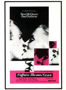 Affiche du film L'affaire Thomas Crown