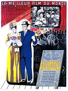 Affiche alternative du film Le silence est d'or