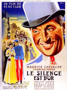 Affiche du film Le silence est d'or