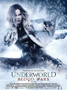 Affiche du film Underworld Blood Wars