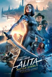 Affiche du film Alita Battle Angel