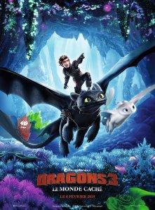 Affiche du film Dragons 3