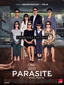 Affiche du film Parasite.