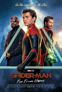 Affiche du film Spider Man Far From Home
