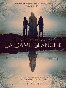 Affiche du film La malédiction de la dame blanche