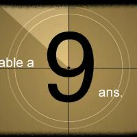 CINÉLUCTABLE A 9 ANS !