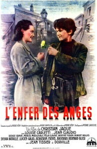 Deuxièle affiche du film L'enfer des anges
