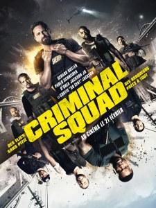 Affiche du film Criminal Squad